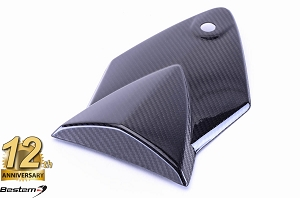 BMW S1000RR HP4 2009 - 2014 100% Carbon Fiber Replacement Passenger Seat Top Cover, Twill Weave